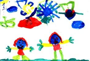dibujo de un niño
